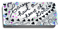 Caregiver Hearts Portable Battery Charger