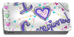 Caring Heart Portable Battery Charger