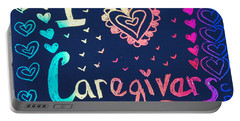 Caregiver Rainbow Portable Battery Charger