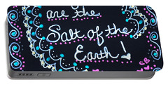 Caregivers Are The Salt Of The Earth Portable Battery Charger