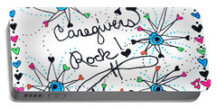Caregivers Rock Portable Battery Charger