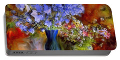 Caress Of Spring - Impressionism Portable Battery Charger