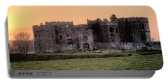 Carew Castle Coral Sunset Portable Battery Charger