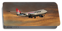Cargolux Boeing 747-8r7 3 Portable Battery Charger