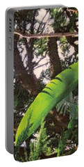 Portable Battery Charger featuring the photograph Caribbean Banana Leaf by Ian  MacDonald