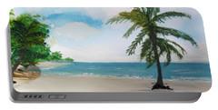Caribbean Beach Portable Battery Charger