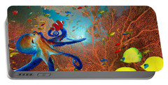 Caribbean Coral Reef Portable Battery Charger