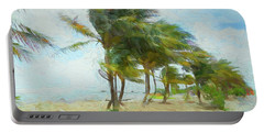 Caribbean Getaway Portable Battery Charger