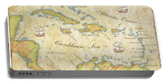 Caribbean Map - Good Portable Battery Charger by Sample