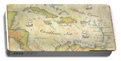 Caribbean Map II Portable Battery Charger