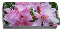 Portable Battery Charger featuring the photograph Caribbean Oleander by Marie Hicks