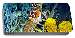 Caribbean Reef Lobster Portable Battery Charger