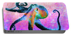 Caribbean Tango Abstract Portable Battery Charger