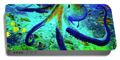 Caribbean Tropical Reef Portable Battery Charger