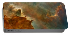 Carina Nebula Details -  Great Clouds Portable Battery Charger