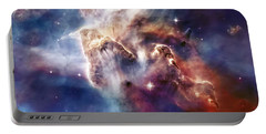 Carina Nebula Pillar Portable Battery Charger