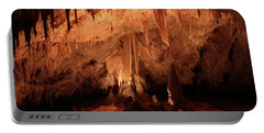 Portable Battery Charger featuring the photograph Carlsbad Caverns 2 by Marie Leslie