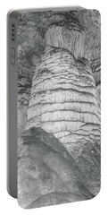 Carlsbad Stalagmite Portable Battery Charger by James Gay