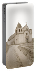 Carmel Mission South Side Circa 1915 Portable Battery Charger
