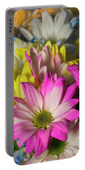 Portable Battery Charger featuring the photograph Carnations by Ester Rogers