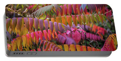 Portable Battery Charger featuring the photograph Carnival Of Autumn Color by Bill Pevlor