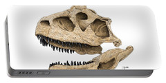 Carnotaurus Skull Portable Battery Charger