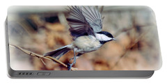 Carolina Chickadee - Come Fly With Me  Portable Battery Charger