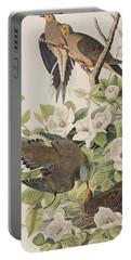 Carolina Turtle Dove Portable Battery Charger by John James Audubon