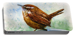 Carolina Wren Large Portable Battery Charger