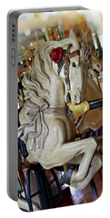 Carousel Belle Portable Battery Charger by Melanie Alexandra Price