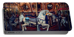 Carousel Portable Battery Charger by David Mckinney