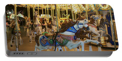 Carousel Horse 3 Portable Battery Charger
