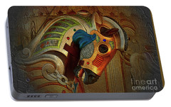 Portable Battery Charger featuring the photograph Carousel Horse by Kathy Baccari