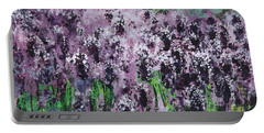 Carpet Of Lavender Portable Battery Charger