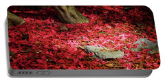 Carpet Of Petals I Portable Battery Charger