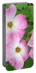 Carpet Roses Portable Battery Charger
