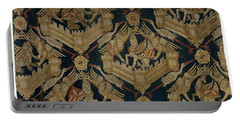 Textile Tapestry Carpet With The Arms Of Rogier De Beaufort Portable Battery Charger