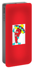 Carrot Character Portable Battery Charger