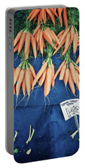 Carrots At The Market Portable Battery Charger