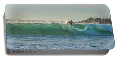 Carsbad Surfer Cutting In Portable Battery Charger
