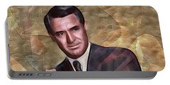 Cary Grant - Square Version Portable Battery Charger