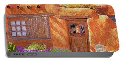 Casa Adobe Portable Battery Charger by Walter Colvin