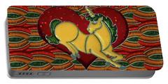 Casablanca Unicorn Dreams Portable Battery Charger