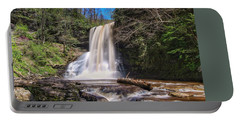 Cascade Falls In Spring Portable Battery Charger