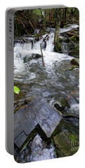 Cascade Falls Stream, Farmington, Maine  -30329 Portable Battery Charger