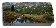 Cascade In The Alps Portable Battery Charger
