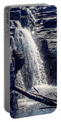 Portable Battery Charger featuring the photograph Cascade by Kendall McKernon