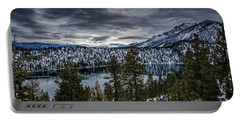 Cascade Lake Winter Portable Battery Charger