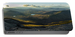 Cascade Mountain Sunset Portable Battery Charger