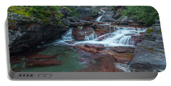 Portable Battery Charger featuring the photograph Cascades by Gary Lengyel